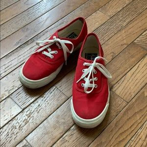 Red Canvas PRO Keds Sneakers